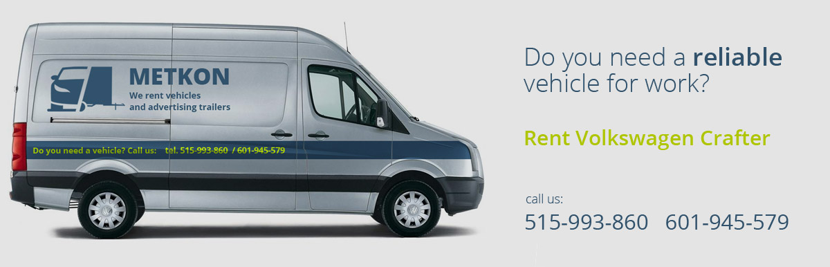 rent a vw crafter